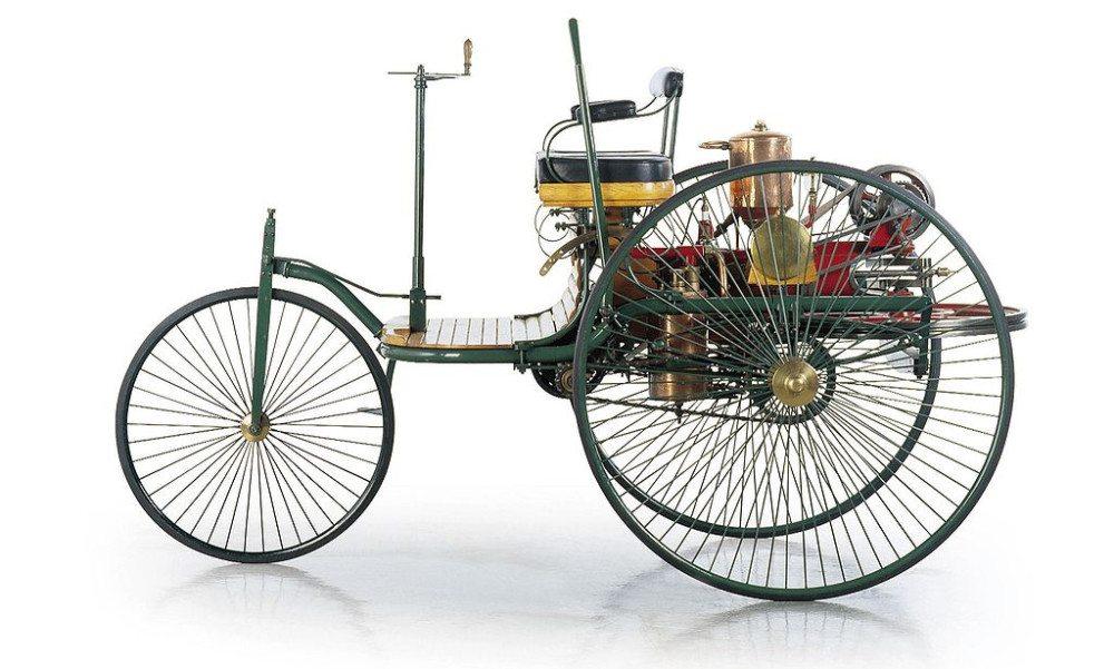 Carl Benz' Patent-Motorwagen Nummer 1 (Bild: DaimlerChrysler AG, Wikimedia, CC)