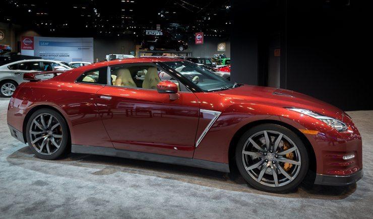 Der neue Nissan GT-R, Chicago Auto Show im Februar 2014 (Bild: InsatiableWanderlust / Shutterstock.com)
