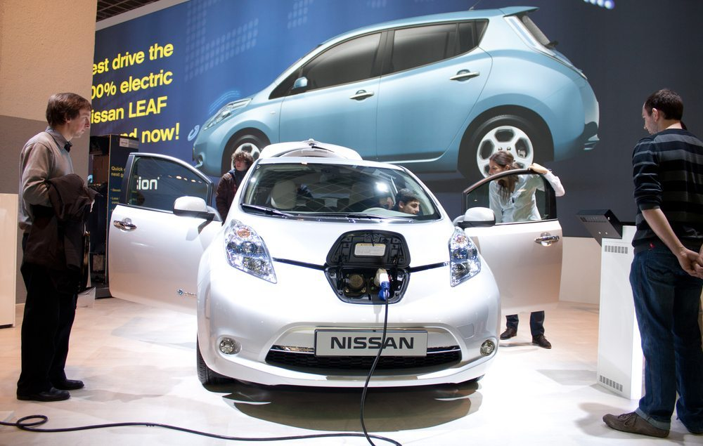 Nissan Leaf – Komfort  an erster Stelle (Bild: CRM / Shutterstock.com)