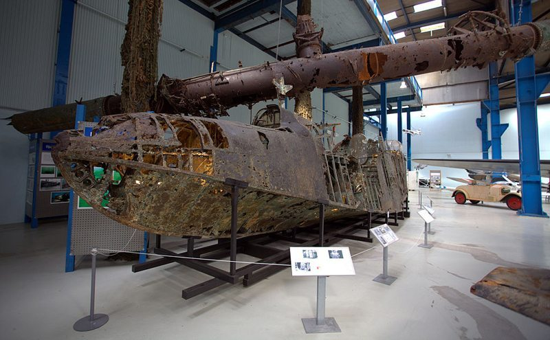 Überreste eines Blohm & Voss BV 138 im Dänischen Technischen Museum, Elsinore, Dänemark (Bild: Uffe R. B. Andersen, Wikimedia, CC)