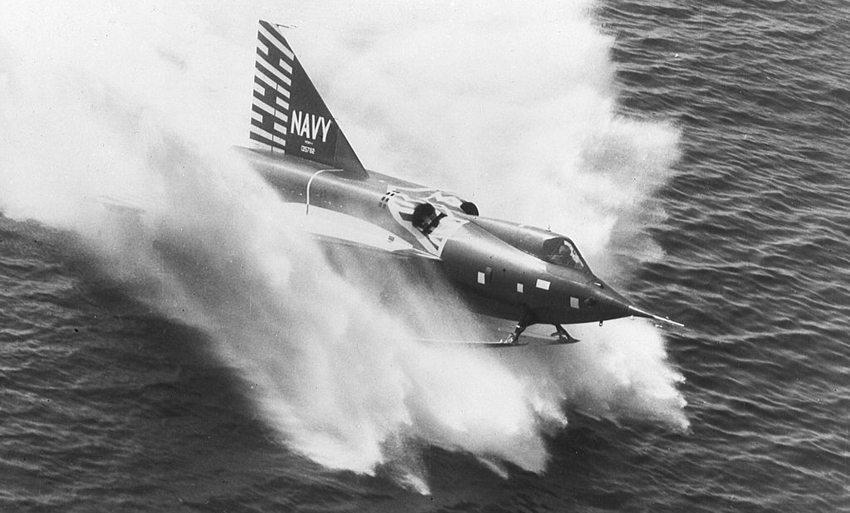 Convair F2Y Sea Dart (Bild: U.S. Navy, Wikimedia)