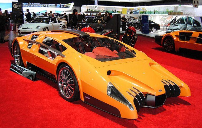 Sbarro Autobau Concept – Genfer Autosalon 2010 (Bild: Alexander Plushev, Wikimedia, CC)