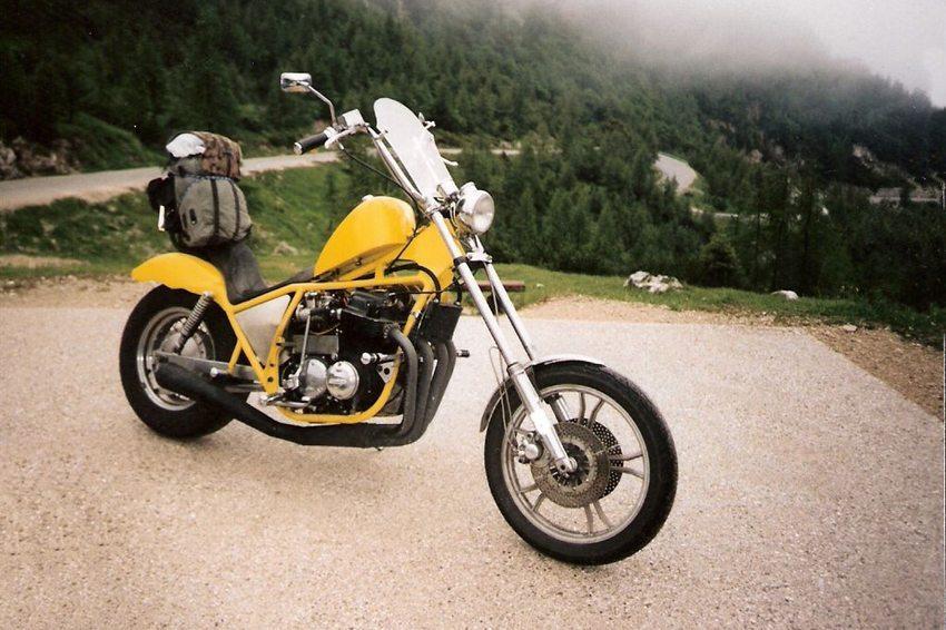 Honda CB 750 Chopper (Bild: Maysy, Wikimedia, CC)