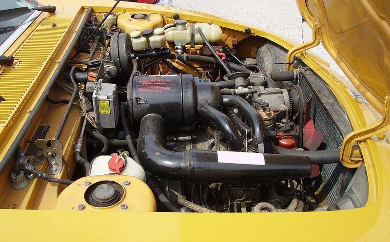 Der Wankelmotor eines NSU Ro 80 (Bild: Pujanak, Wikimedia)