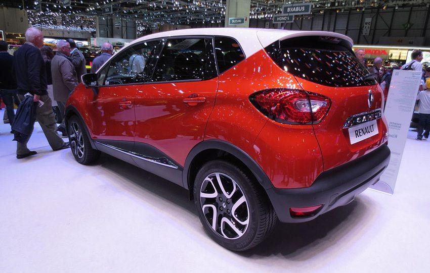 Renault Captur  - Heckansicht (Bild: Luc106, Wikimedia)