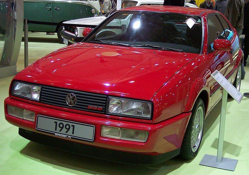 VW Corrado G60 als damals einzige Version, die über einen G-Lader verfügte. (Bild: Stahlkocher, Wikimedia, CC)