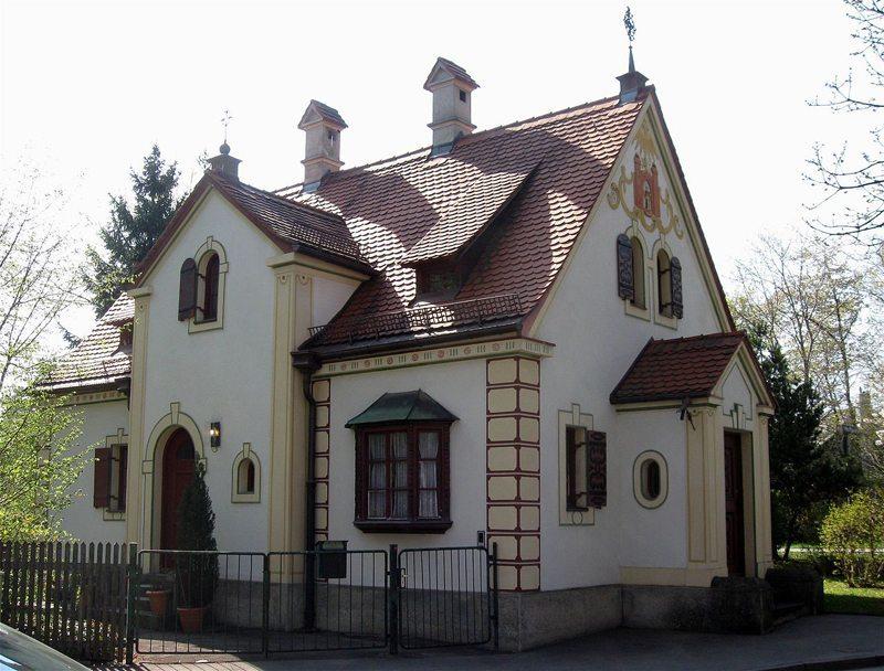 Pflasterzollhaus in der Wolfratshauser Straße 139 der Stadt München, erbaut 1896 (Bild: Rufus46, Wikimedia, CC)