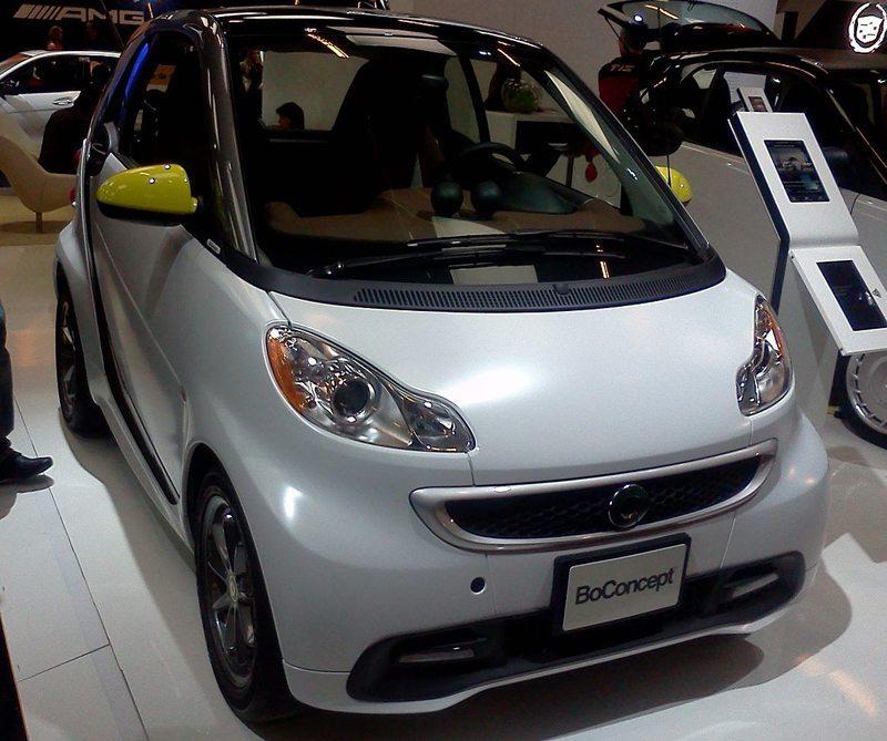 Smart Fortwo auf Montreal International Auto Show 2014 (Bild: Bull-Doser, Wikimedia)