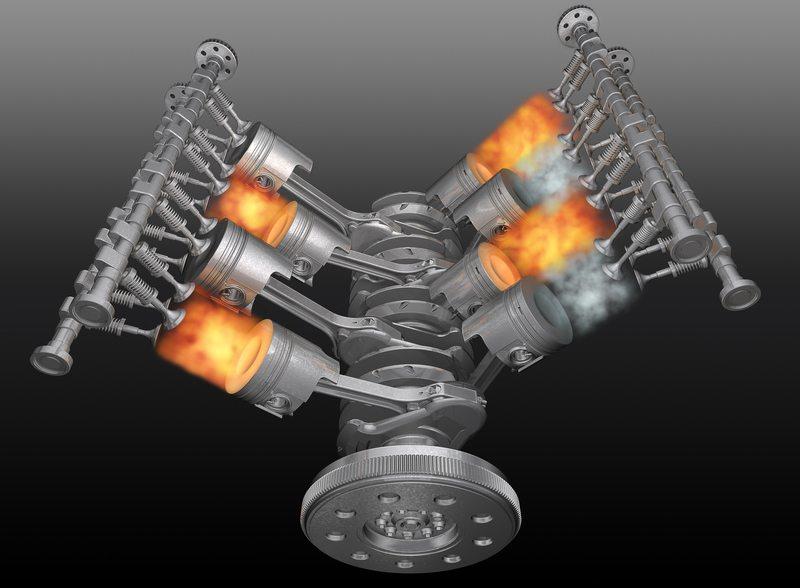 Brennstoff erfüllt die Aufgaben der Energiegewinnung im Motor durch kontrollierte Explosionen (Bild: © Valerijs Kostreckis - Fotolia.com)