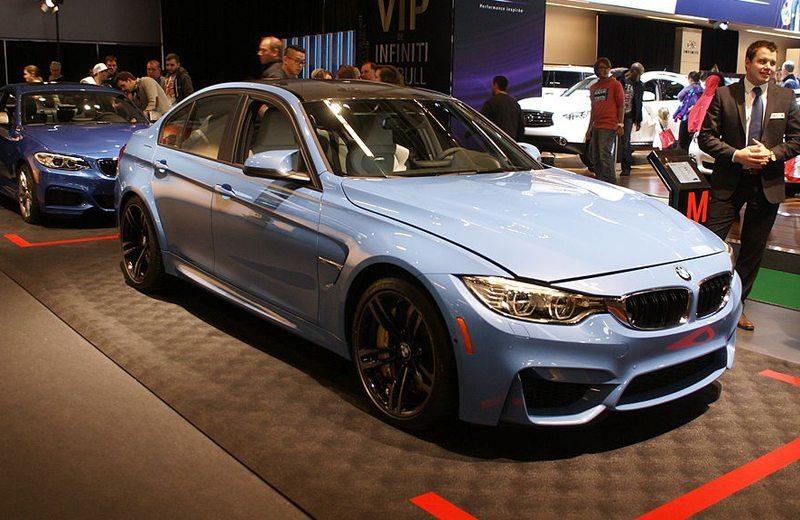 BMW M3, Salon International de l'auto de Montréal 2014 (Bild: Matti Blume, Wikimedia, CC)