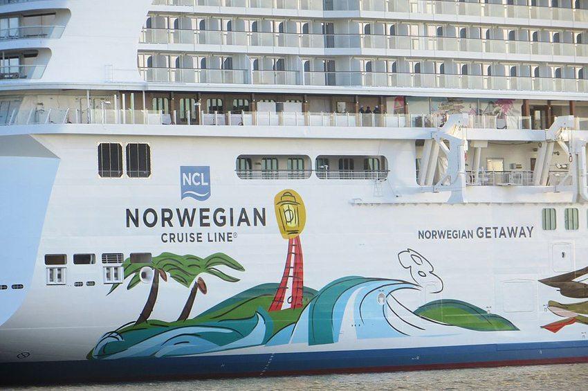Die Norwegian Getaway ist das Miami-Schiff der Norwegian Cruise Line. (Bild: Dickelbers, Wikimedia, CC)