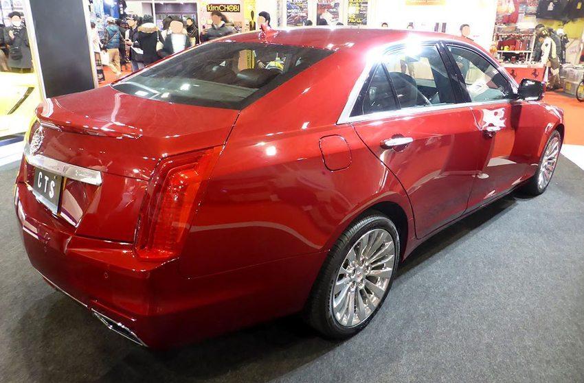 Cadillac CTS – Osaka Motor Show 2013 (Bild: Tokumeigakarinoaoshima, Wikimedia, CC)