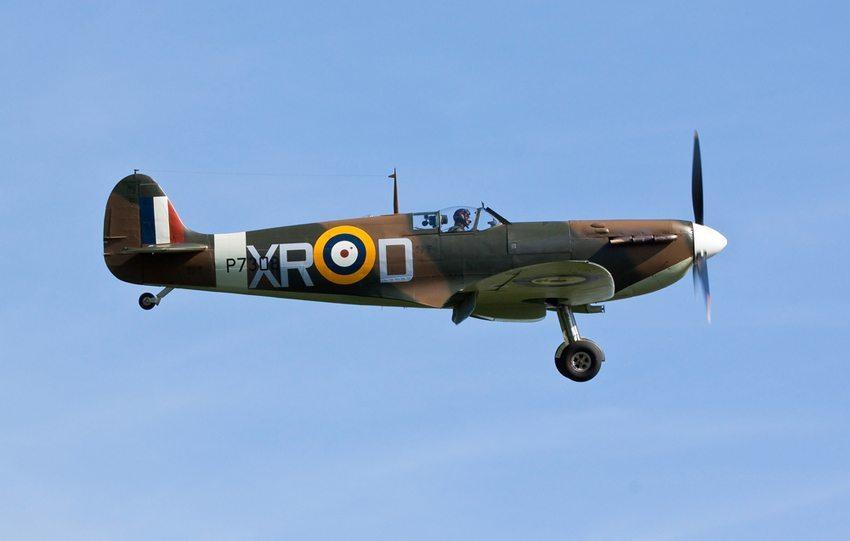 Spitfire aus England (Bild: IanC66 / Shutterstock.com)