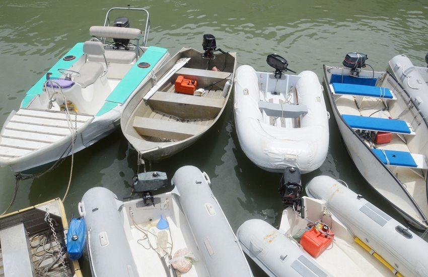 Unterschiedliche Beiboot-Typen (Vild: antoni halim / Shutterstock.com)