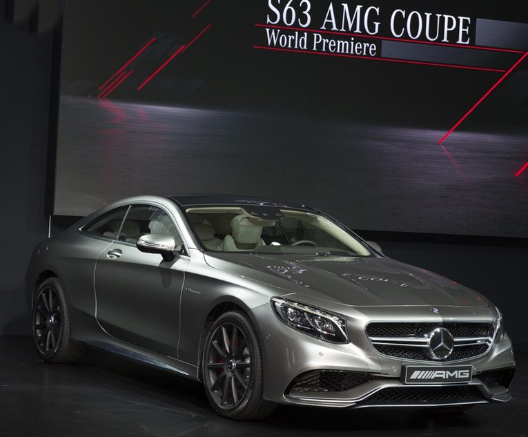 Mercedes S63 AMG Coupé auf New York Auto Show 2014 (Bild: lev radin / Shutterstock.com)