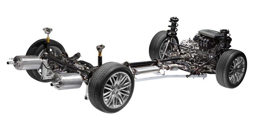 Die Reifen des Fahrzeuges stellen den Kontakt zur Fahrbahn her (Bild: Rudy Balasko / Shutterstock.com)
