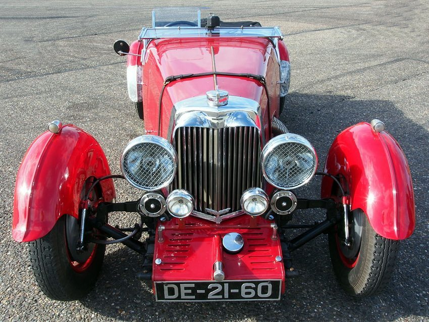 Aston Martin Mark II, 1934 (Bild: Alf van Beem, Wikimedia, CC)