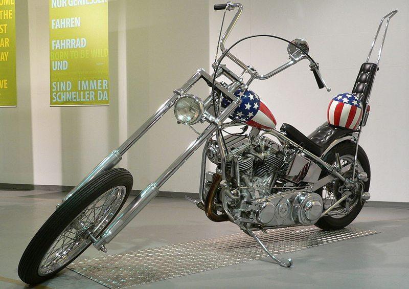 Harley-Davidson Easy-Rider-Chopper (Bild: Joachim Köhler, Wikimedia, CC)