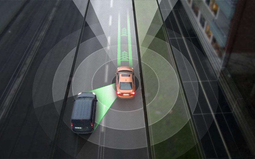 Drive me Fahrzeuge sind in der Lage, verschiedene Verkehrssituationen autonom zu meistern. (Bild: © Volvo Car Group, Corporate Communications, SE-405 31 Gothenburg)