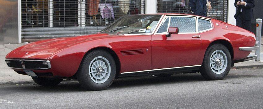 Maserati Ghibli aus dem Jahre 1967 (Bild: Mr.choppers, Wikimedia, CC)