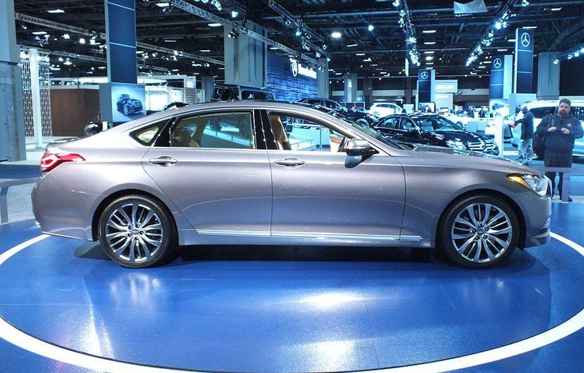 Hyundai Genesis – US-Modell 2014 (Bild: A. Bailey, Wikimedia, CC)