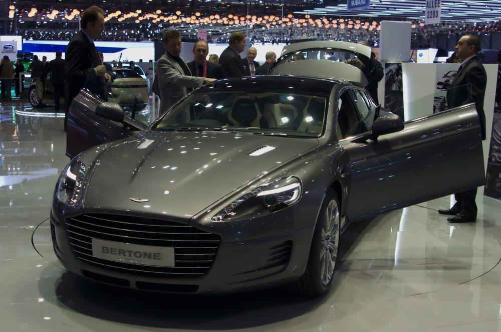 Geneva MotorShow 2013 - Aston Martin Rapide Bertone. (Bild: Clément Bucco-Lechat / wikimedia.org)