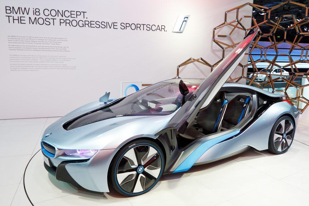 BMW i8. (Bild: Patrick Poendl / Shutterstock.com)