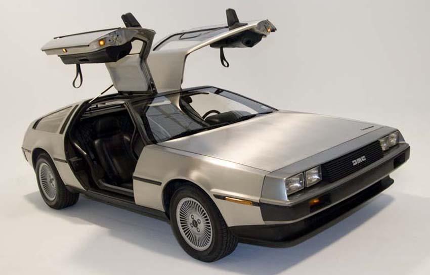 DeLorean DMC-12 (Bild: Kevin Abato, Wikimedia, CC)