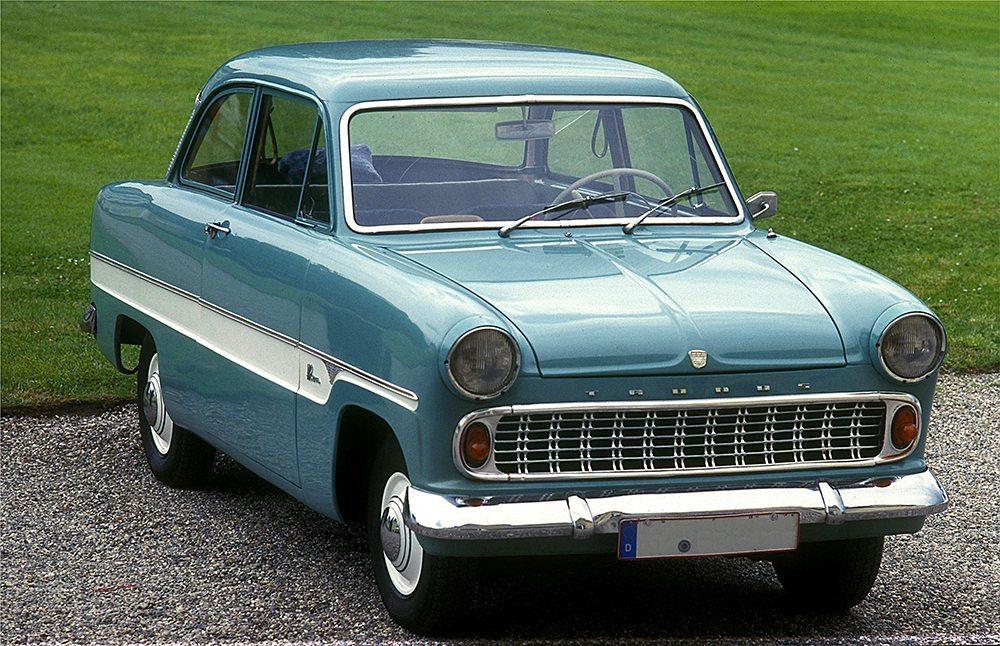 Ford 12 M, Bauzeit 1959 - 1962. (Bild: Spurzem / wikipedia.org)