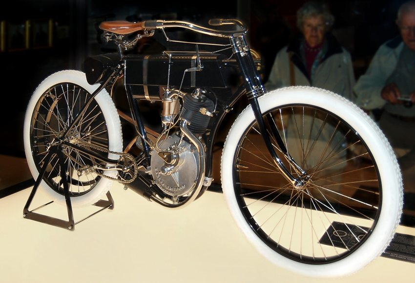 Harley-Davidson Modell 1, 1905 (Bild: Danemroberts, Wikimedia, CC)