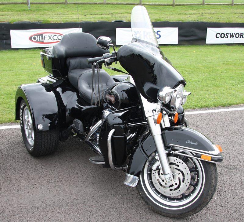 Harley-Davidson Trike (Bild: Brian Snelson, Wikimedia, CC)