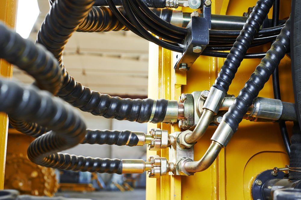 Hydraulikpumpe. (Bild: Dmitry Kalinovsky / Shutterstock.com)