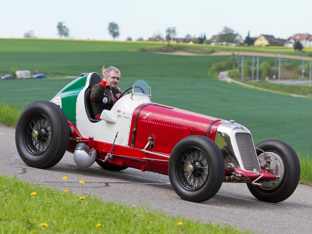 Masarati 8CM Grand Prix 1933. (Bild: Martin Lehmann / Shutterstock.com)