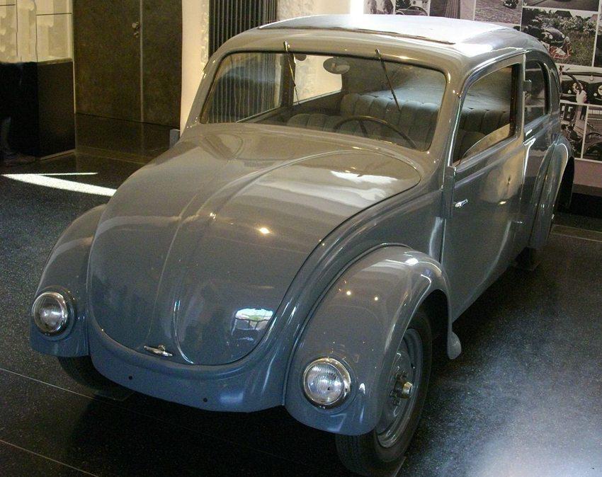 Käfer NSU-Prototyp von Ferdinand Porsche, 1934 (Bild: Palauenc05, Wikimedia)