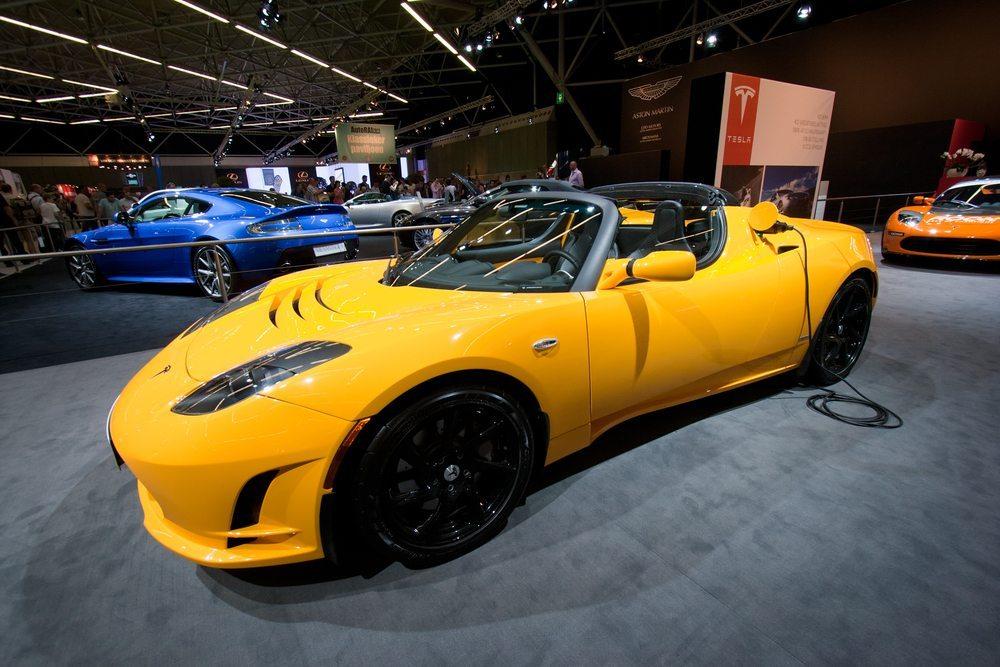 Fahrwerk und Karosserie des Tesla Roadster: durchdachtes Gesamtkonzept. (Bild: VanderWolf Images / Shutterstock.com)