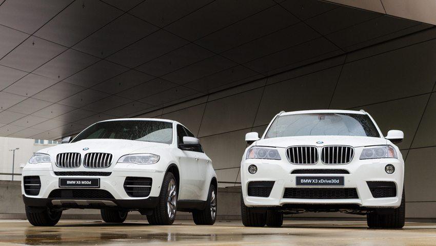 BMW X3 und X6 SUV (Bild: servickuz / Shutterstock.com)