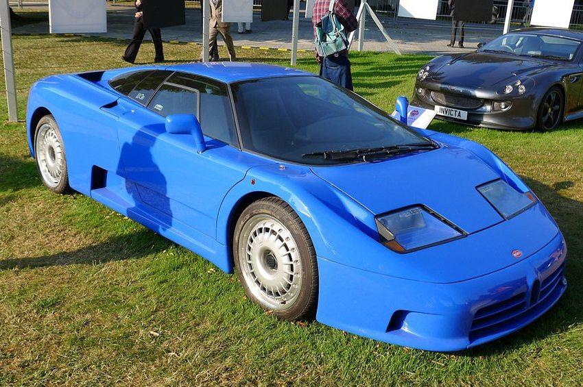 Bugatti EB110 GT (Bild: edvvc, Wikimedia, CC)