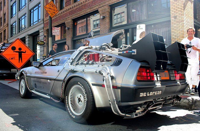 """Zurück in die Zukunft – die """"Zeitmaschine"""" in dem Hollywood-Streifen war ein DeLorean DMC-12. (Bild: Ed g2s, Wikimedia, CC)"""