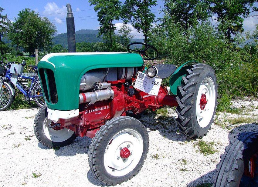 Lamborghini-Traktor Lamborghinetta, Baujahr 1957 (Bild: Späth Chr., Wikimedia)