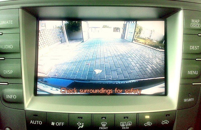 Bild einer Lexus-Rückfahrkamera (Bild: http://flickr.com/photos/banoootah_qtr/, Wikimedia, CC)