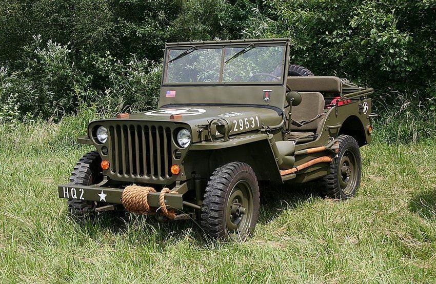 Willys MB, Baujahr 1944 (Bild: Lothar Spurzem, Wikimedia, CC)