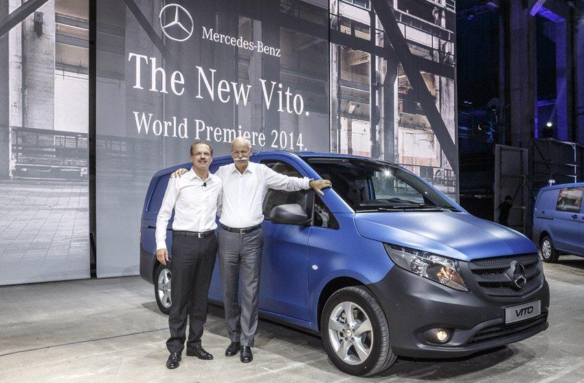 Auf der Nutzfahrzeuge-IAA in Hannover stellt Mercedes im Herbst 2014 eine vielfältige Neuauflage des Vito vor. (Bild: 2014 Daimler AG)