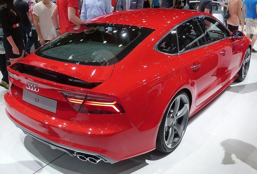 Audi S7 Facelift – Heckansicht (Bild: Thomas doerfer, Wikimedia, CC)