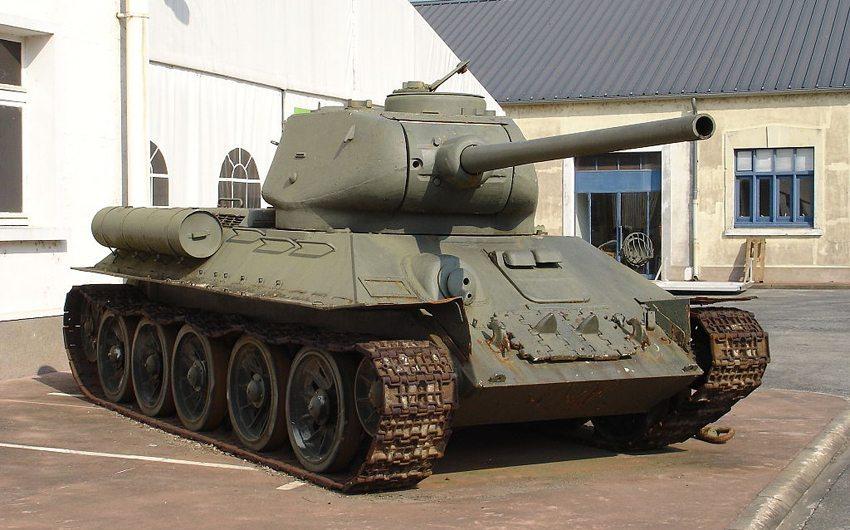Der legendäre T-34 (Bild: Antonov14, Wikimedia, CC)