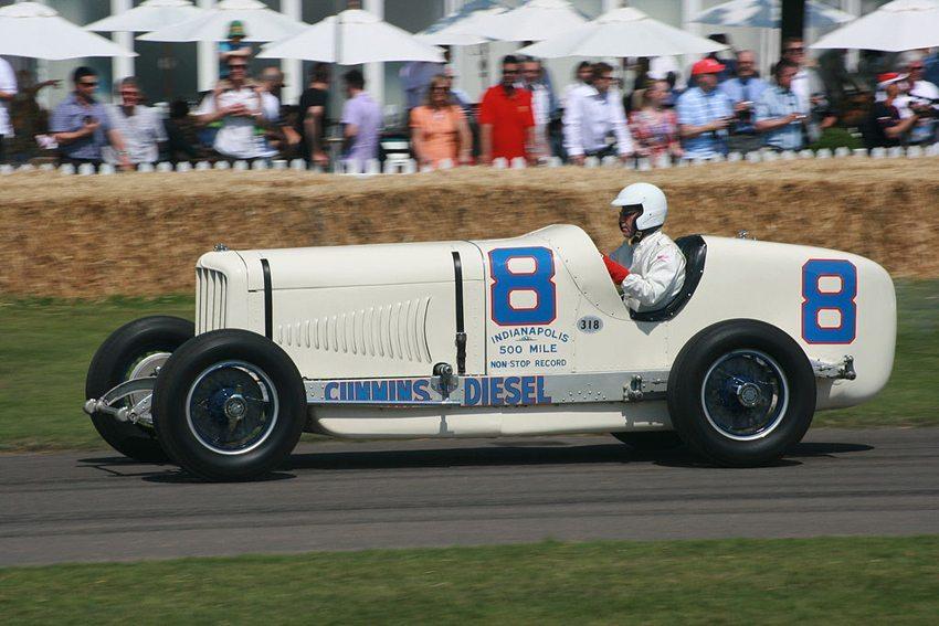 Duesenberg Cummins Diesel Special 1931 (Bild: ian mcwilliams, Wikimedia, CC)