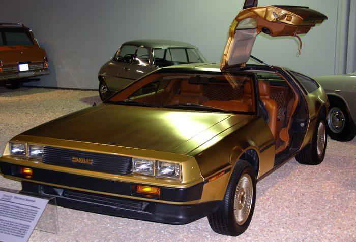 Der letzte DMC hatte eine mit 24-karätigem Gold beschichtete Karosserie. (Bild: Lvtalon, Wikimedia, CC)