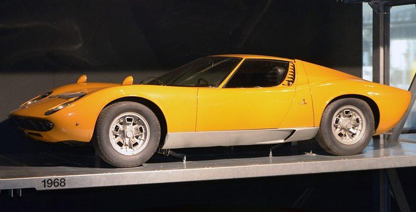 Lamborghini Miura (Bild: Gzzz, Wikimedia, CC)