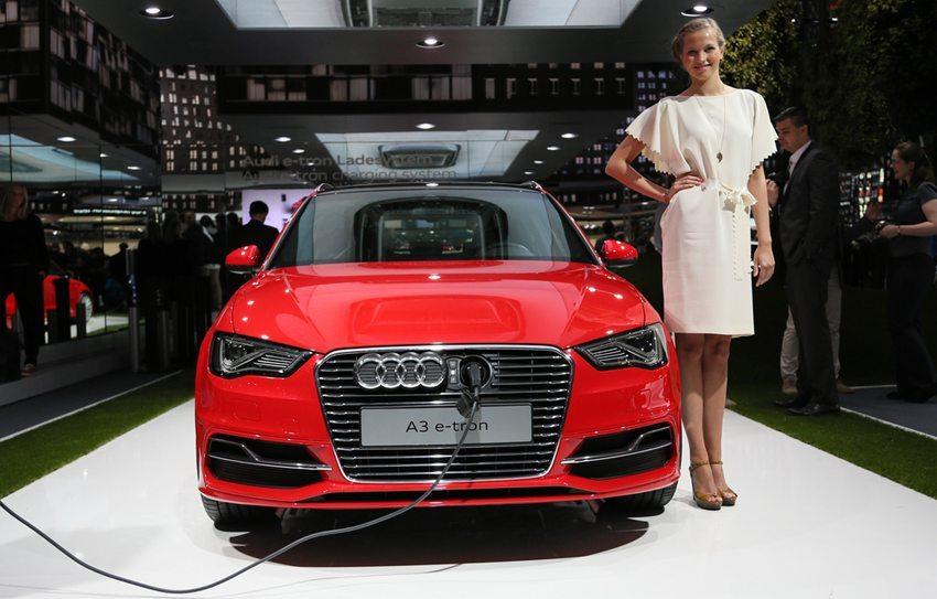Audi A3 e-tron – Frontansicht (Bild: Fingerhut / Shutterstock.com)