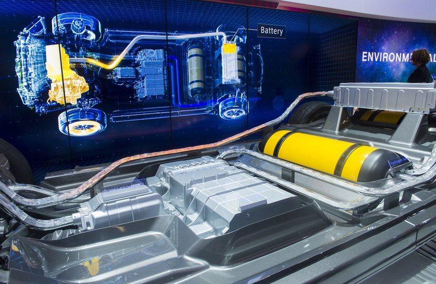 Arbeitsprinzip von Toyota FCV (Bild: Kobby Dagan / Shutterstock.com)
