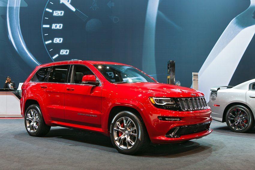 Jeep Grand Cherokee auf der Chicago Auto Show 2014 (Bild: Darren Brode / Shutterstock.com)